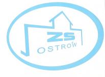 Logo of elearning ZS w Ostrowie